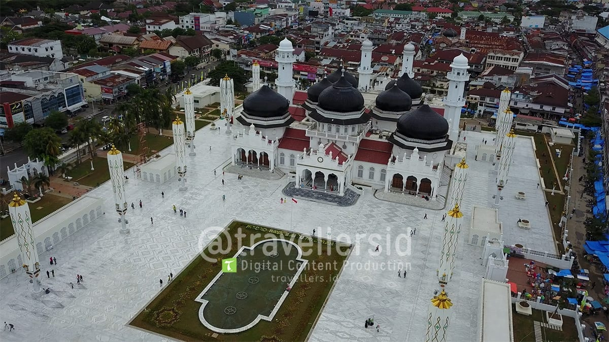 Baiturrahman Grand Mosque, Banda Aceh, Aceh, Indonesia