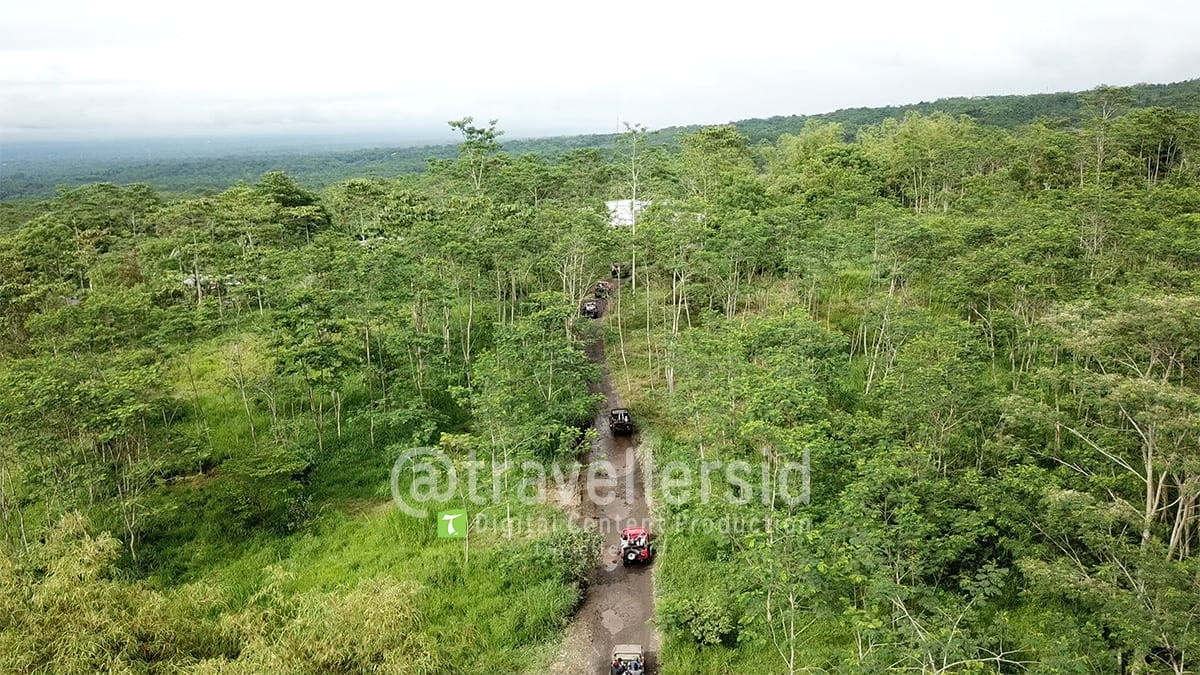 Jeeps at Mt. Merapi, Sleman, Jogja, Indonesia