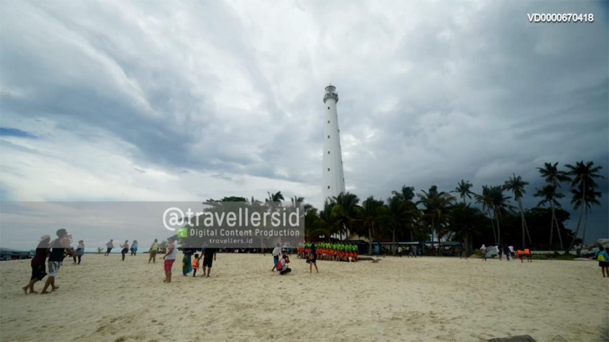Lengkuas Island Lighthouse, Belitung, Bangka Belitung, Indonesia