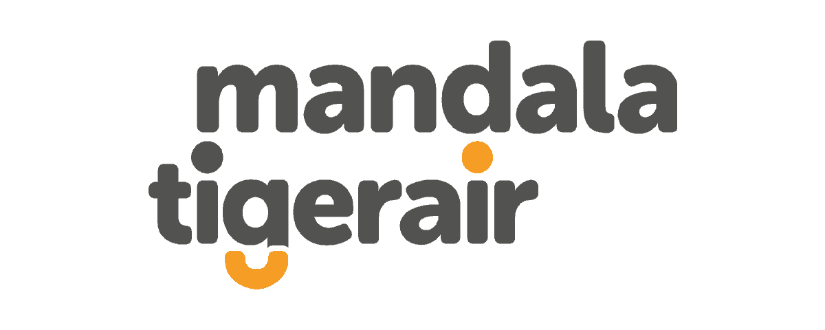 Tigerair Mandala Logo (Long)