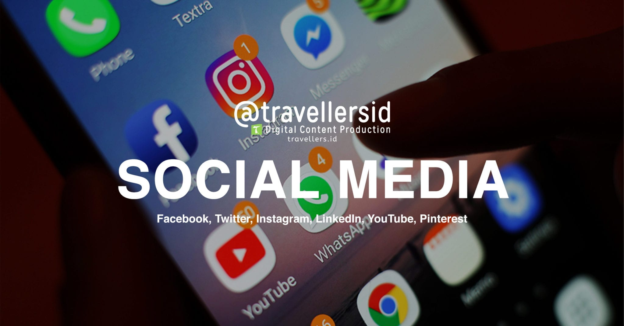 @TravellersID Social Media Services