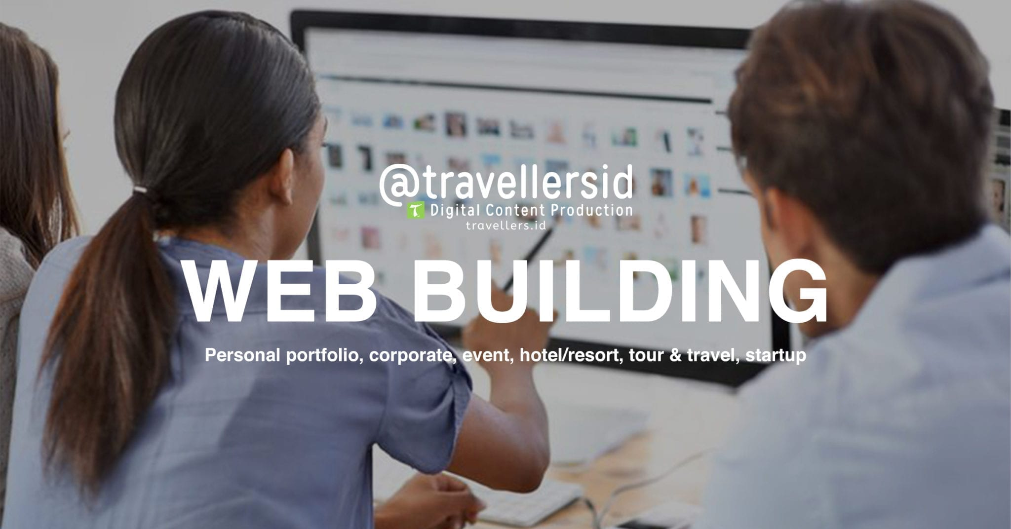 @TravellersID Web Building Services