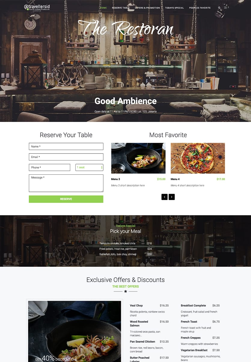 Restaurant (Preview)