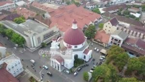 Blendoeg Church, Kota Lama, Semarang, Central Java, Indonesia