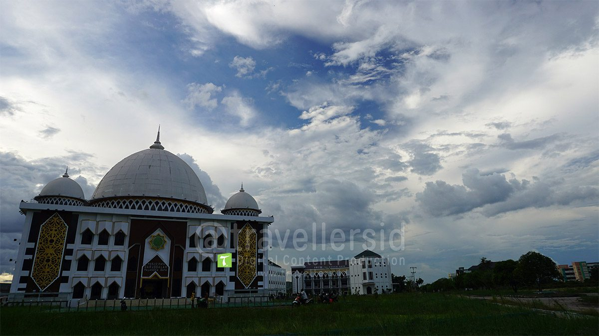 Darussalam Grand Mosque, Palangka Raya, Central Kalimantan