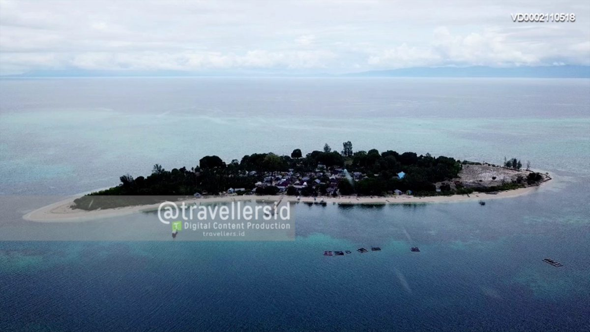 Koloray/Kolorai Island, Morotai, North Maluku, Indonesia