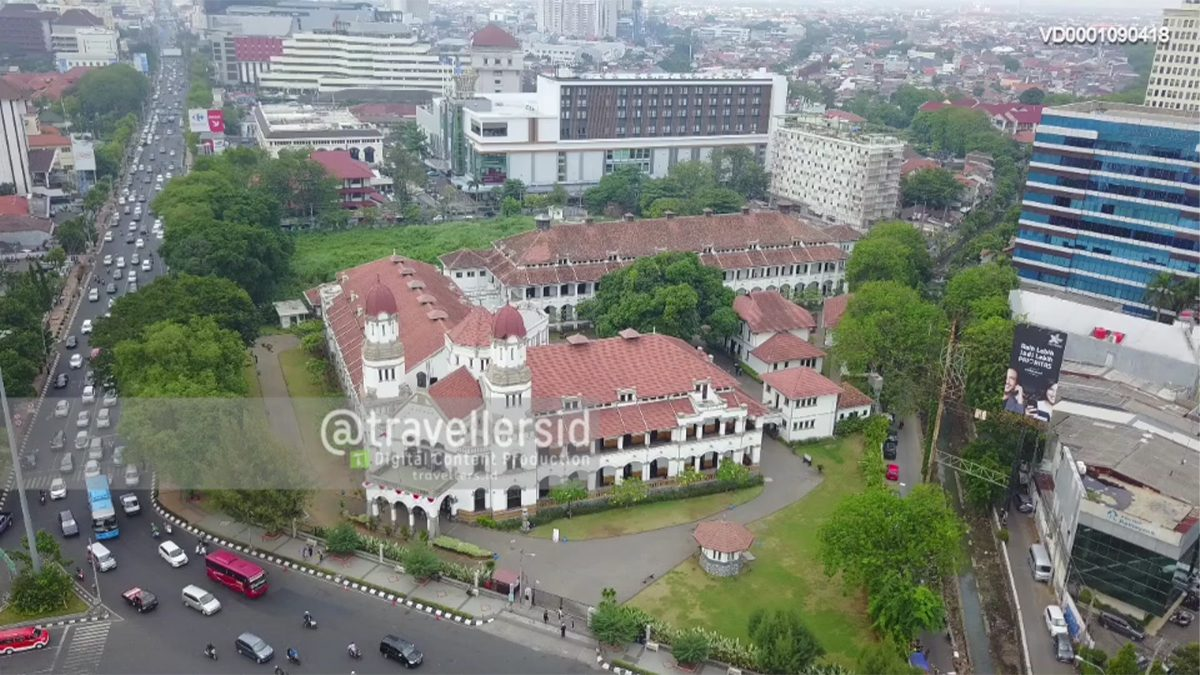 Lawang Sewu, Semarang, Central Java, Indonesia