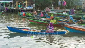 Lok Baintan Floating Market, Banjar, South Kalimantan, Indonesia