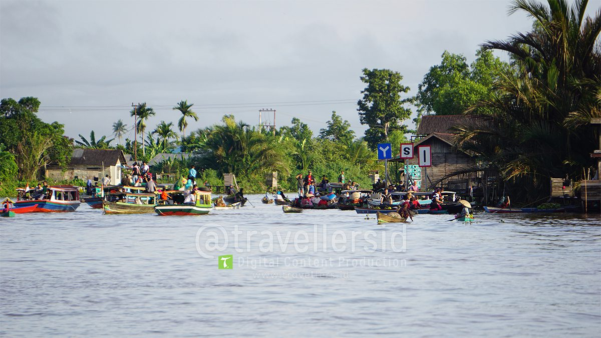 Martapura River Life, Banjarmasin, South Kalimantan, Indonesia