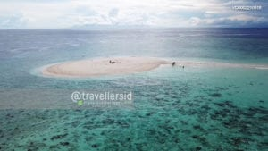 Morotai Floating Sand (Isle), North Maluku, Indonesia