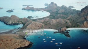 Padar Island, Komodo National Park, West Manggarai, Flores, NTT, Indonesia