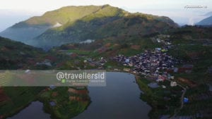 Sembungan Village and Cebong Lake, Wonosobo, Dieng Plateau, Central Java, Indonesia