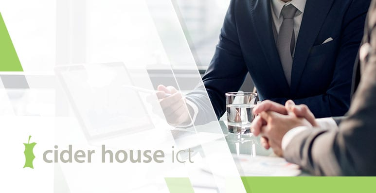 The Right People at The Right Time - Cider House ICT